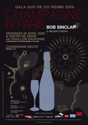 CHAMPAGNE IN PARIS avec bob sinclar
