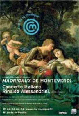 Concerto Italiano (Monteverdi:Madrigaux)