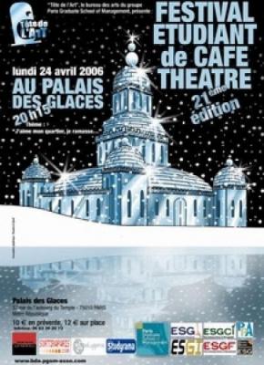 21eme Festival Cafe Theatre des Grandes ecoles