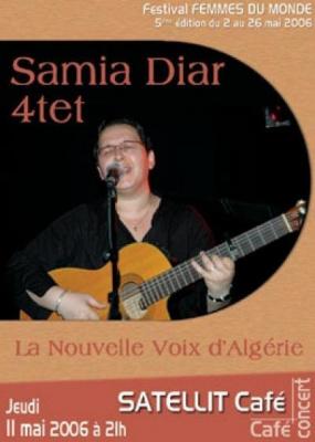 SAMIA DIAR (festival femmes du monde)