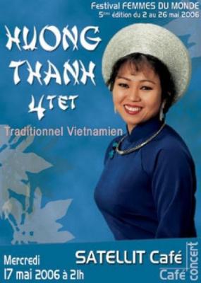 HUONG THANH 4tet  (festival femmes du monde)