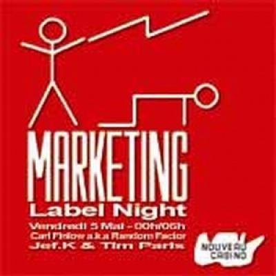 Marketing Label Nignt