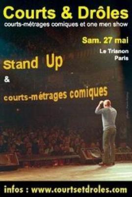 Courts et Droles, génération Stand Up!