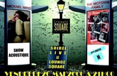 Soiree Live au Lounge Square