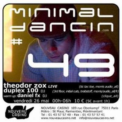 THEODOR ZOX live / DUPLEX 100 DJ / DANIEL.FX DJ