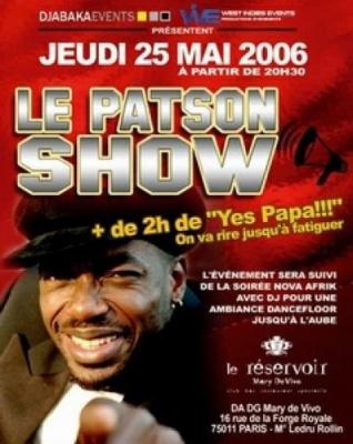 LE PATSON SHOW
