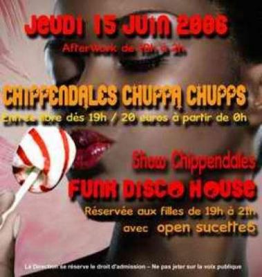 <br /> CHIPPENDALES CHUPPA CHUPS