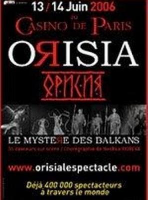 Orisia, Le Mystere des Balkans   Cat 1