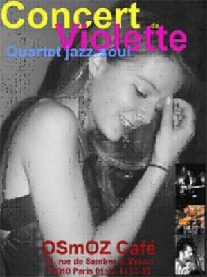 Violette (Quartet jazz-soul)