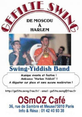 Gefilte Swing (Swing Klezmer aux accents Yiddish)