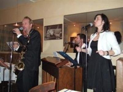 Matthieu Boré Vocal Swing Jazz Quartet Vocal Swing Jazz : Dîner Spectacle