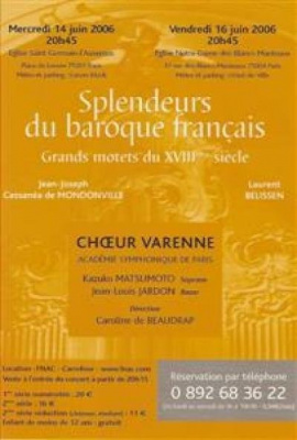 SPLENDEURS DU BAROQUE Français
