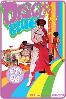 Disco Blue: DISCOLOUNGE