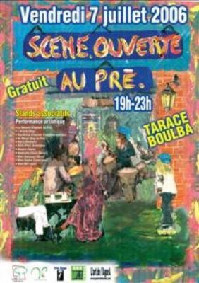 « Scène ouverte au Pré »