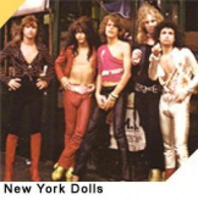 <br /> THE NEW YORK DOLLS