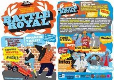 battle roayl/ paris all stars