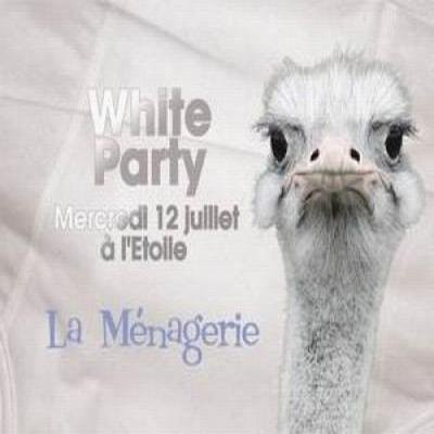 la ménagerie is back : White Party
