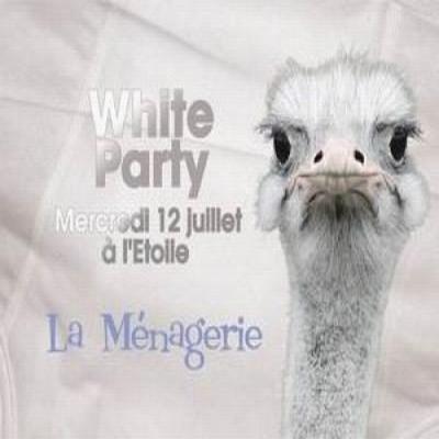 la ménagerie is back : White Party