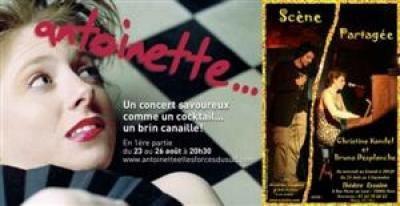 Antoinette… / Scène partagée : Christine Kandel et Bruno Desplanche