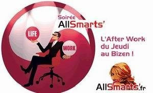 soirées all smarts after work au bizen