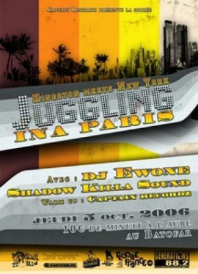 Jugglin ina Paris ( Kingston meets New York )