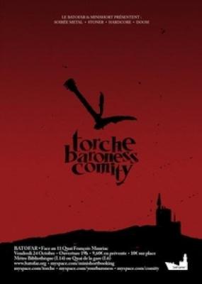 Torche + Baroness + Comity