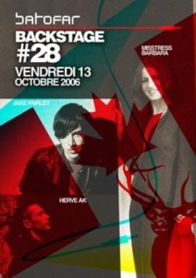 BACKSTAGE # 28 special CANADA