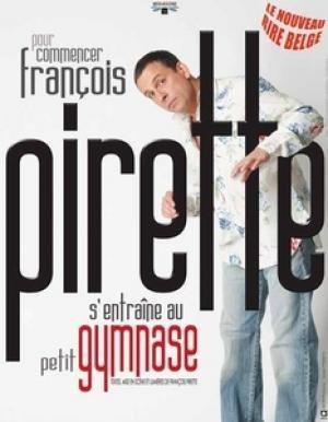 Francois Pirette s entraine au Petit Gymnase
