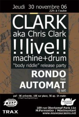 CHRIS CLARK / RONDO / AUTOMAT