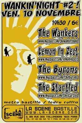 THE WANKERS/LEMON IN ZEST