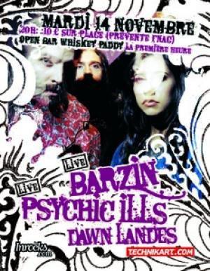 BARZIN – PSYCHIC ILLS – DAWN LANDES