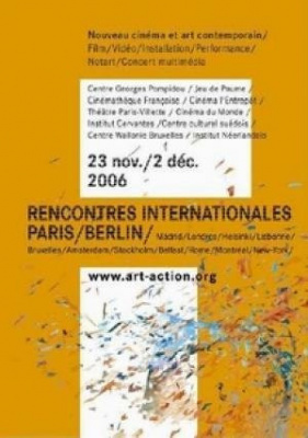 Rencontres internationales Paris/ Berlin >> Projection Video