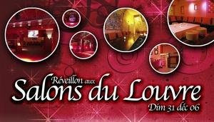 Diner + Soiree aux salons du Louvre Diner
