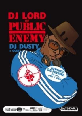 Dj Lord of Public Enemy