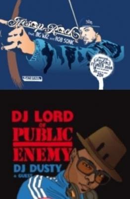 Aesop Rock feat. Big Wiz & Rob Sonic +    DJ Lord