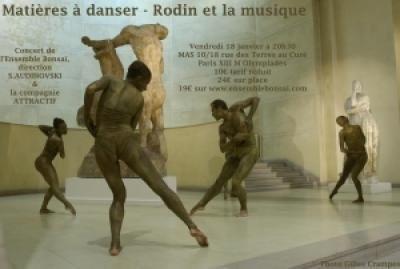 Matières à danser, Rodin et la musique