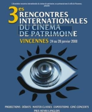 3e Rencontres Internationales du Cinema de Patrimoine