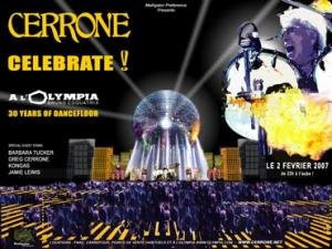 Cerrone : Celebrate 30 Years of Dancefloor