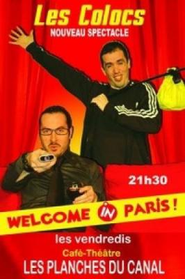 Les Colocs: welcome in Paris