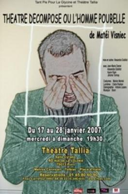 Theatre decompose ou l Homme poubelle