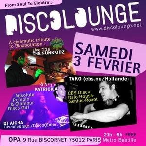 Discolounge from Soul to Electro