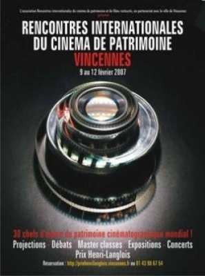 Rencontres Internationales du cinema de patrimoine