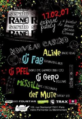 EXPERT PARTY Rane/Serato