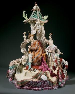 Pagodes et Dragons, Exotisme et Fantaisie dans l'Europe Rococo