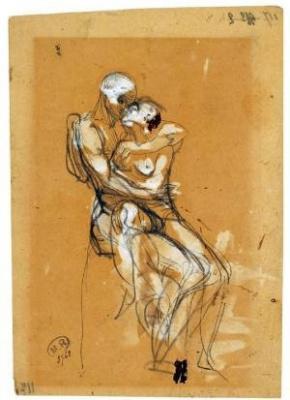 Rodin. Les figures d'Eros, dessins et aquarelles érotiques 1890 – 1917