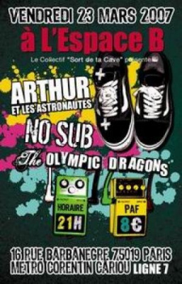 Arthur et les Astronautes, The Olympic Dragons, No Sub