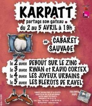 KARPATT PARTAGE SON GATEAU DU 2 AU 5 AVRIL