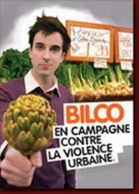 Paris fait sa comedie >> Bilco dans  En campagne contre la violence urbaine