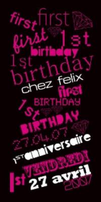 BIRTHDAY CHEZ FELIX