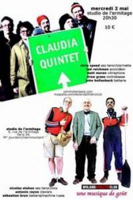 The Claudia Quintet + Woland Athletic Club